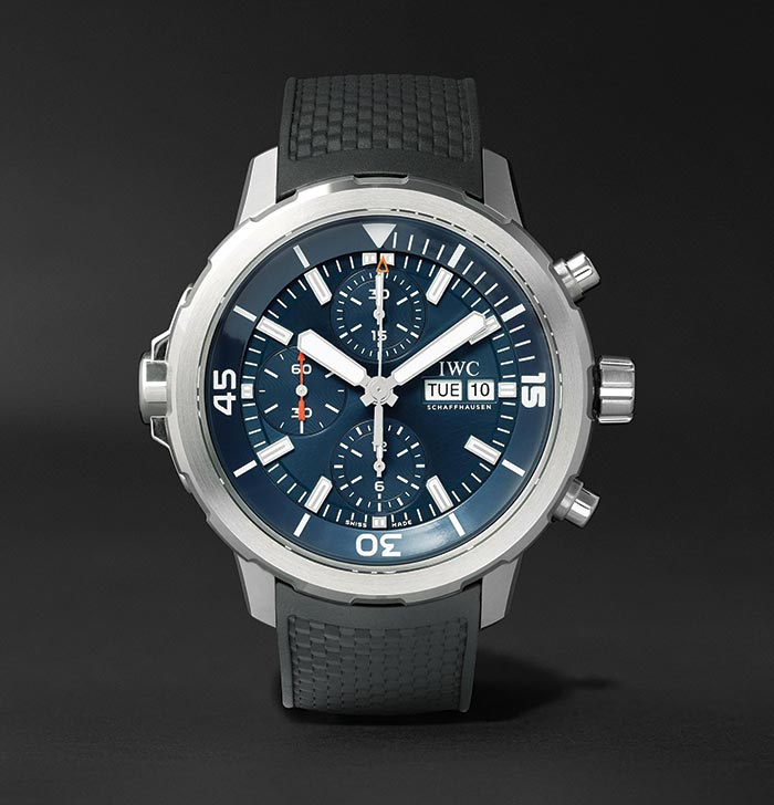 The IWC Aquatimer Chronograph Edition Expedition Jacques-Yves Cousteau