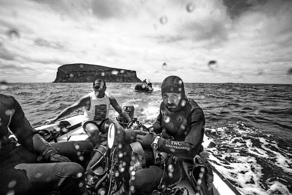 The White Mike charity sees Muller traverse the planet to promote shark conservation efforts and capture some strikingly raw images (Credit: Michael Muller)