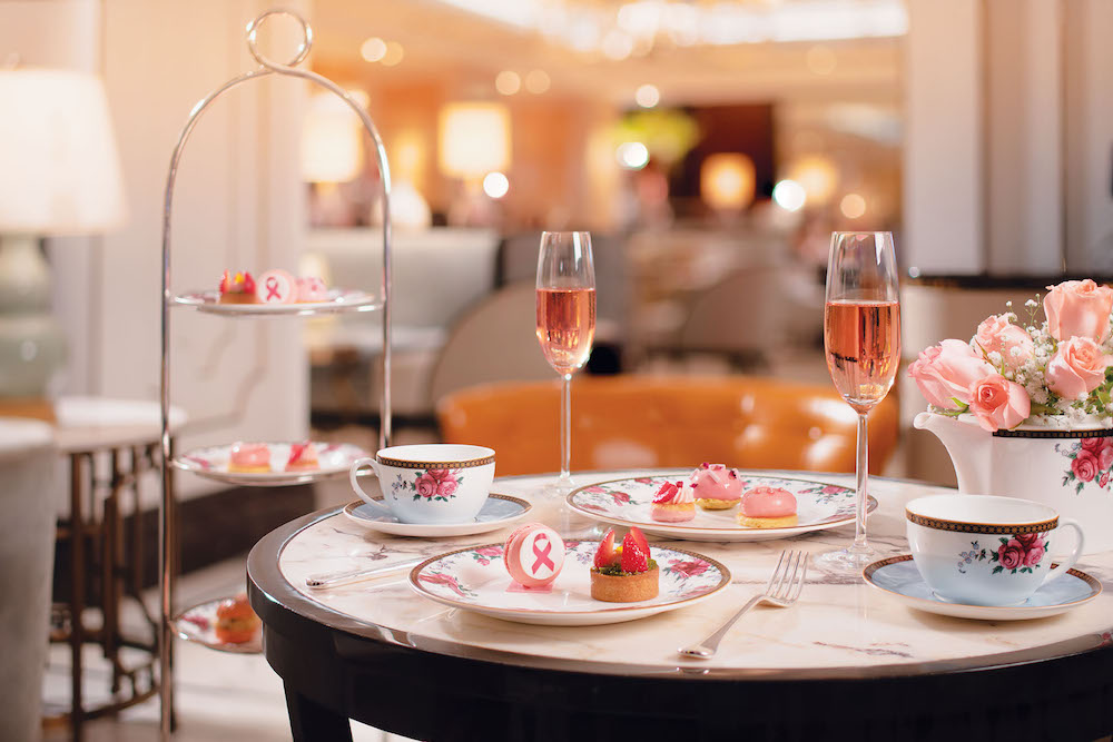 The Think Pink Afternoon Tea
