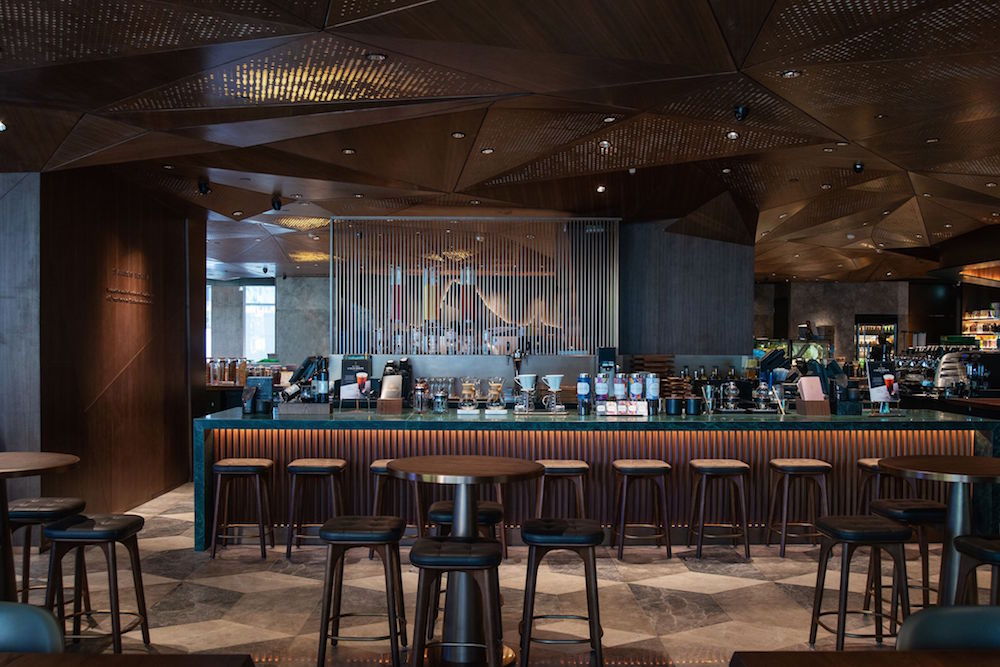 Starbucks 5,500 square foot flagship store in Causeway Bay