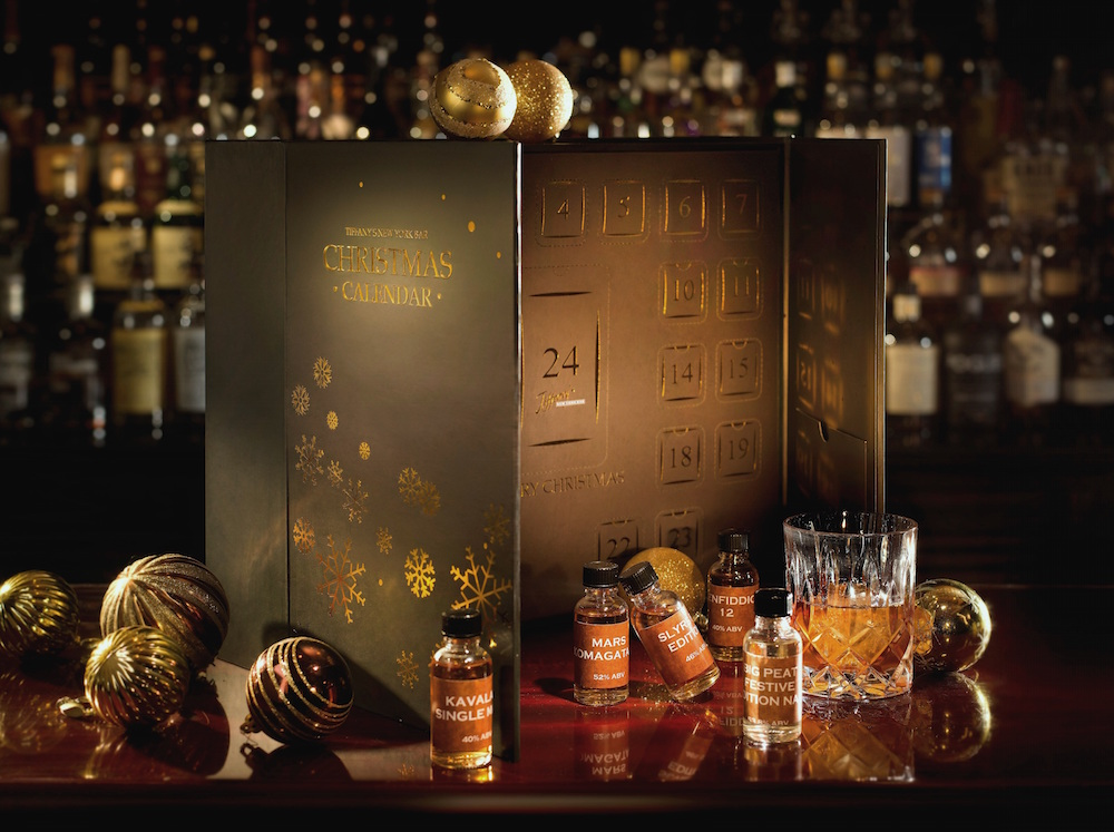 InterContinental Grand Stanford's whisky advent calendar