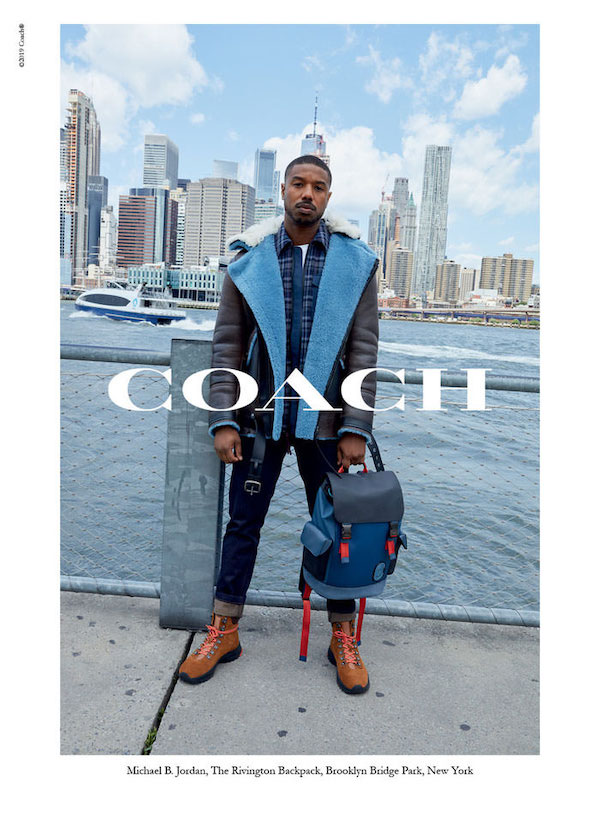 Michael B. Jordan for Coach Fall 2019