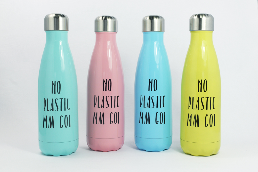 The No Plastic Mm Goi range is available in multiple colours and sizes