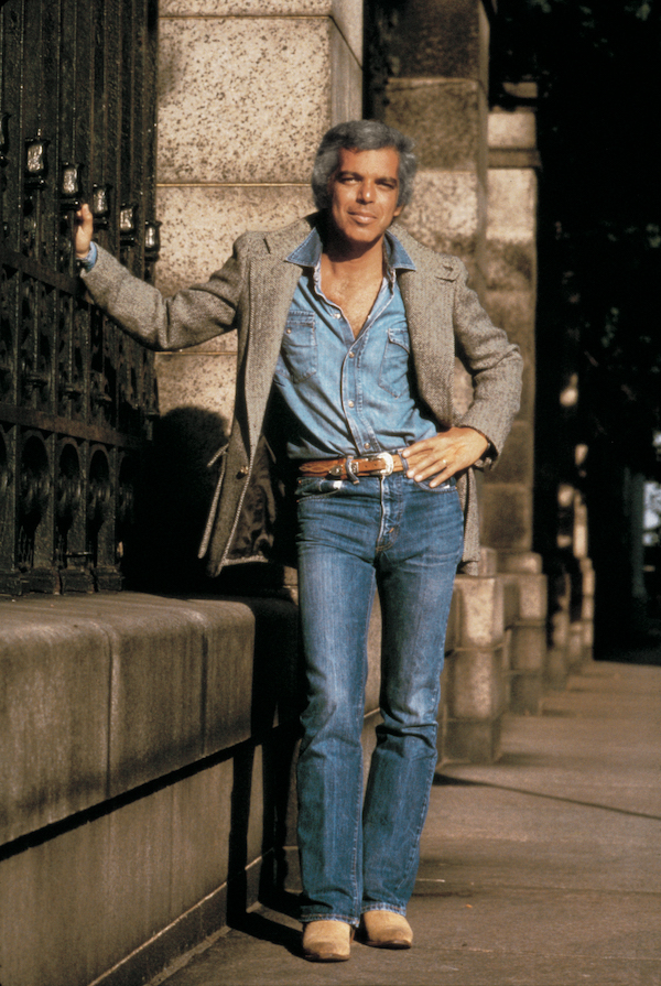 Ralph Lauren in 1978; photo: Les Goldberg, courtesy of Ralph Lauren