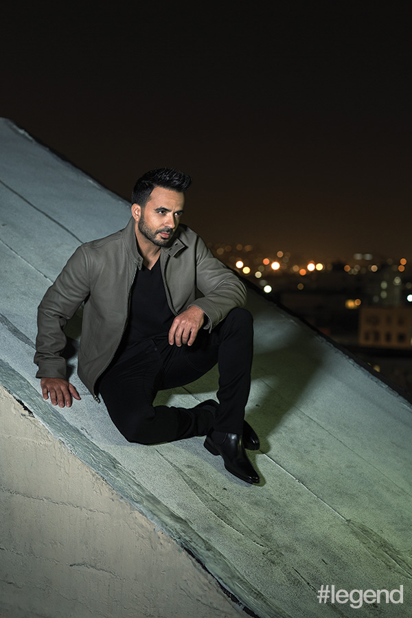 Luis Fonsi in our October 2017 photoshoot