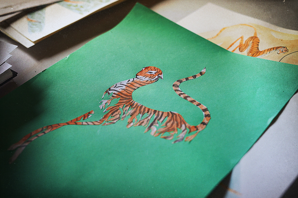 Meryl Smith's Nameless design was inspired by a wild tiger that was discovered after being injured by snares in Malaysia