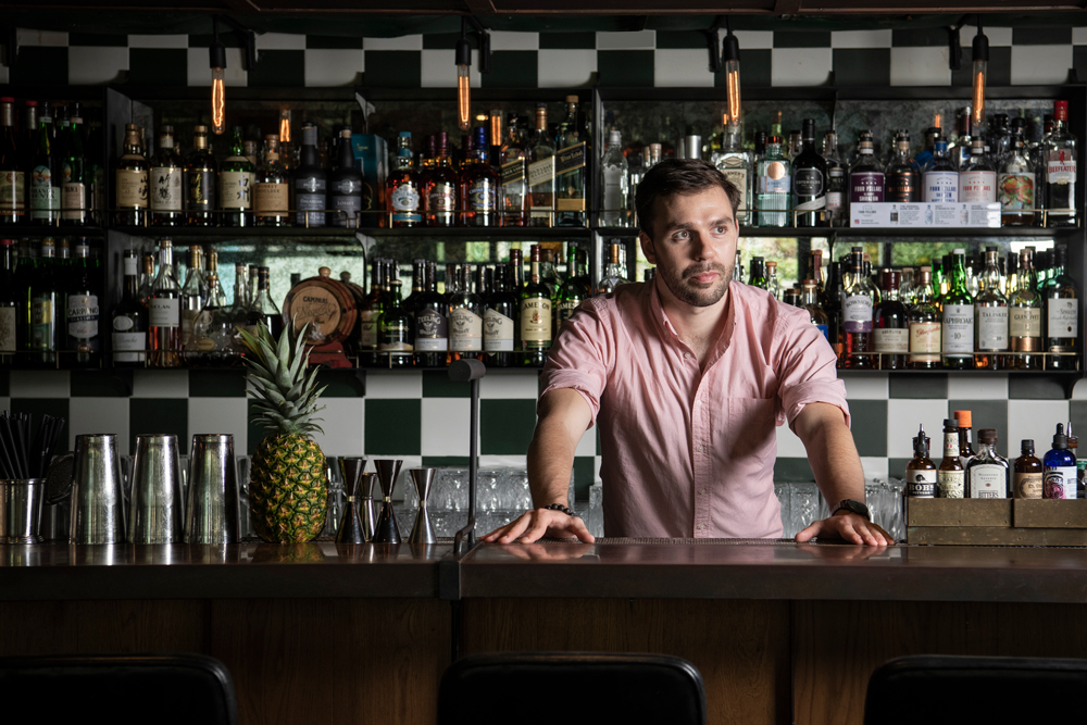 Group Bar Manager James Barker