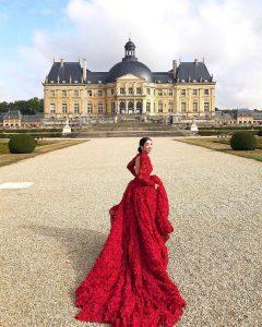 Carmen Yim Red Dress