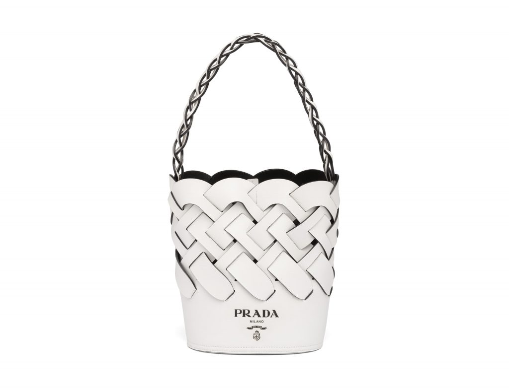 Bucket bag by Prada