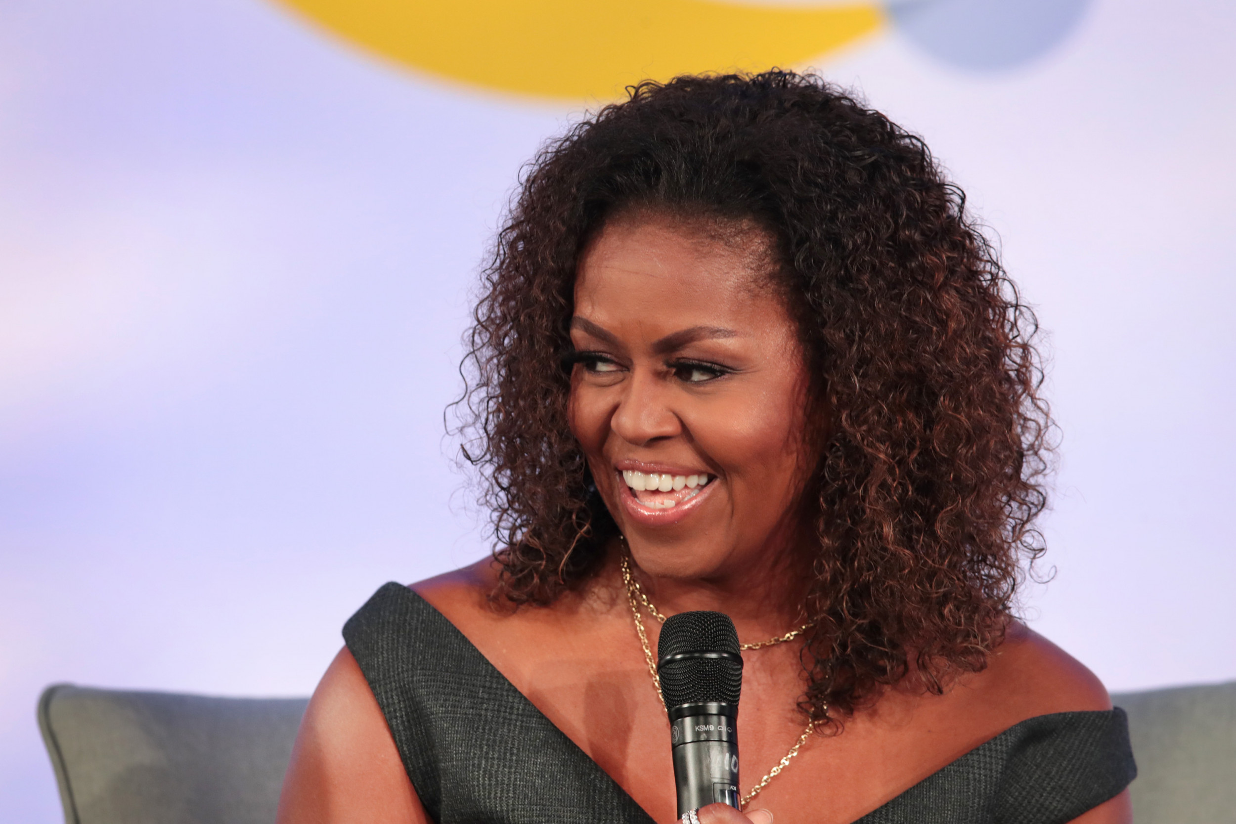 Highlights from Michelle Obama's first podcast, featuring ...