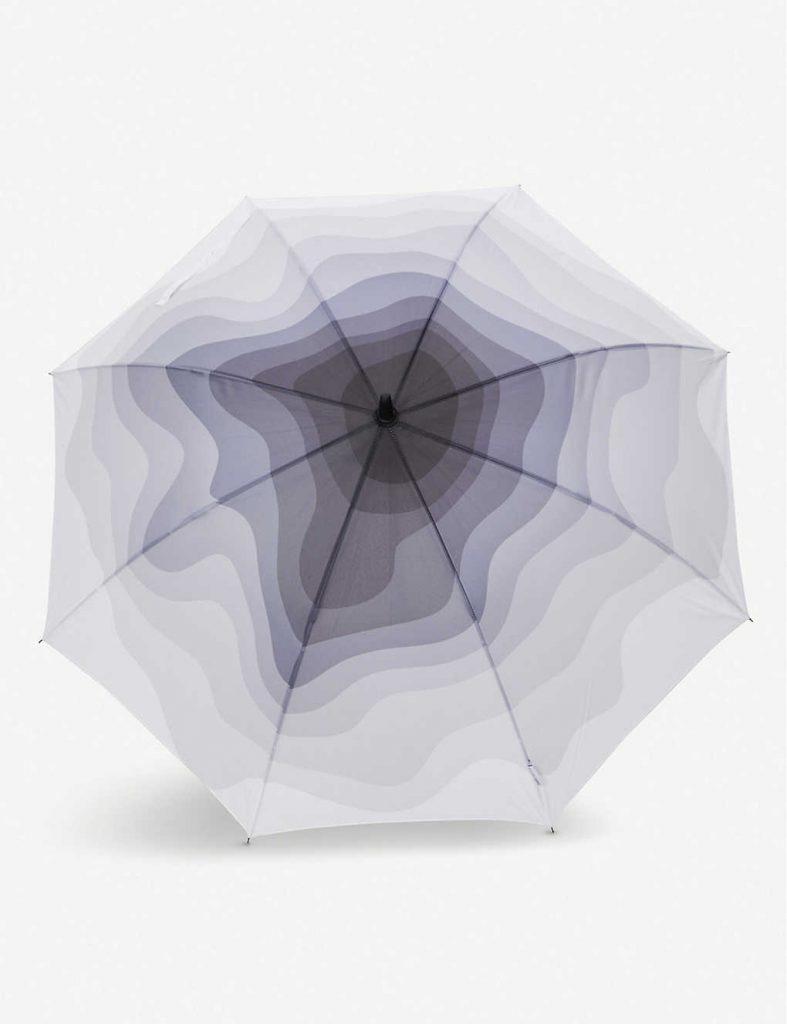 Daniel Arsham x Snarkitecture gradient umbrella 2