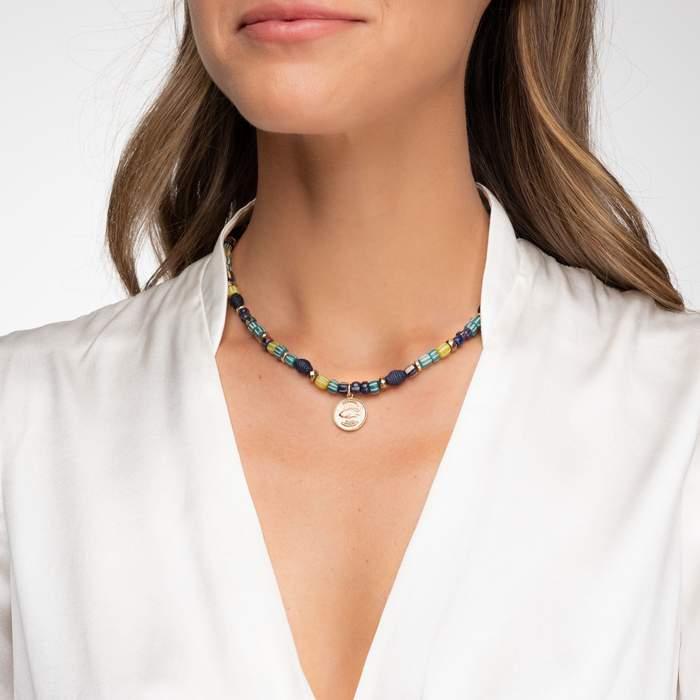 Akola beaded necklace