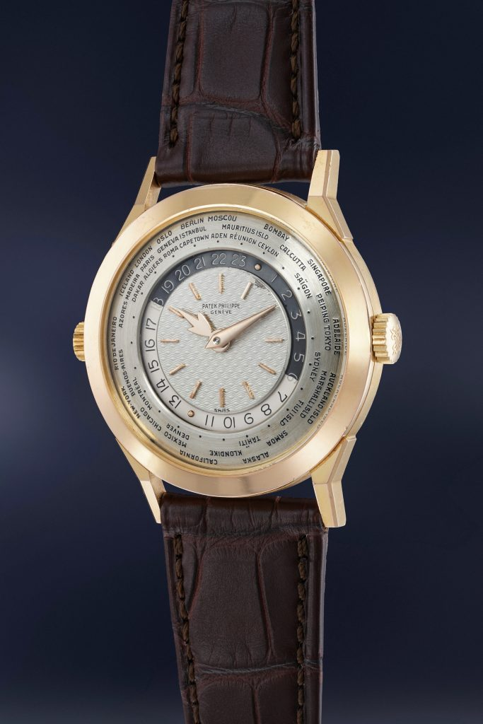 Phillips Patek Philippe Reference 25231 in Rose Gold-min