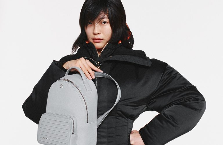 RIMOWA Never Still lifestyle_Backpack Small Grey HERO