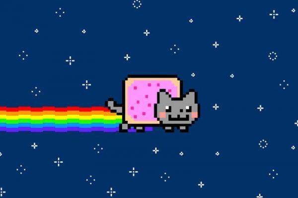 crypto art nyan cat