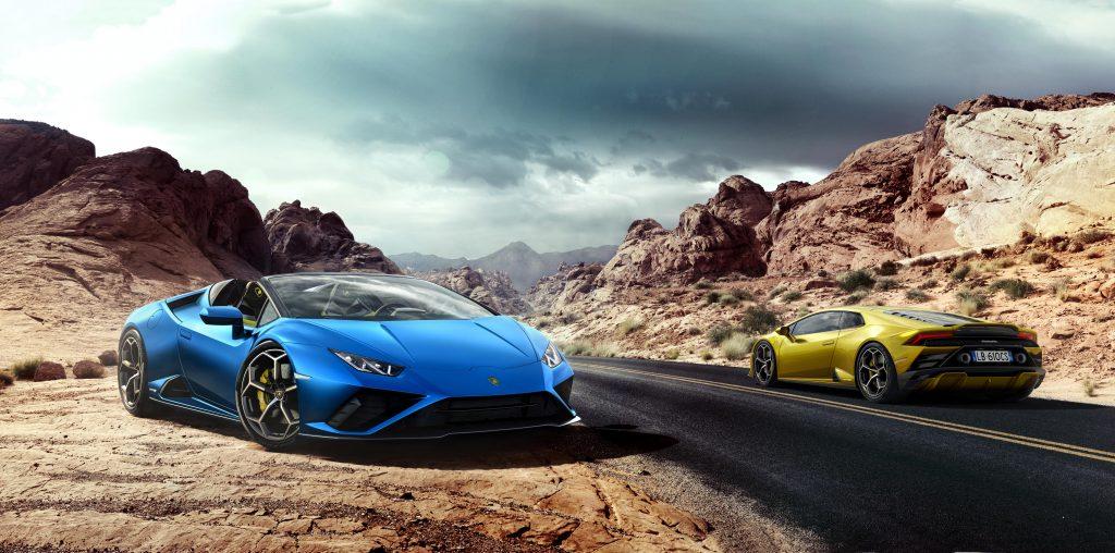 04 - Lamborghini Huracán EVO RWD Spyder(Left) & Huracán EVO RWD(Right)-min
