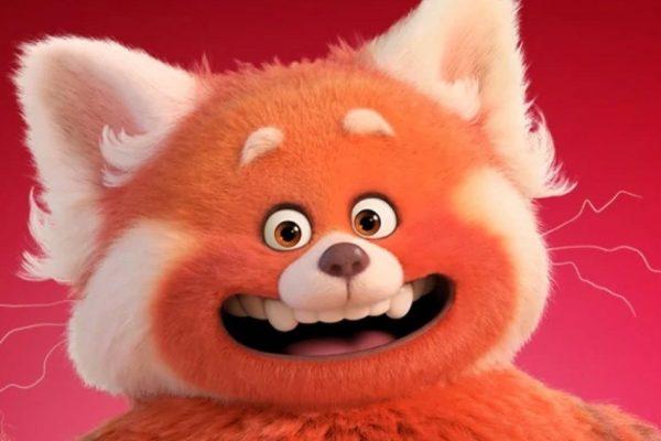 pixar turning red panda