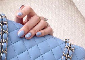 tinted hk nail art